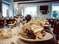Svatební tabule - ubytování Hradčovice