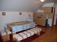Obytná kuchyň apartmán č.5