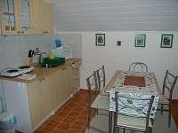 Obytná kuchyň apartmán č. 5