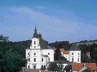 Křtiny - poutní chrám Jména Panny Marie ve Křtinách