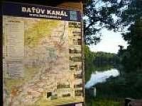 přístav u řeky Moravy - Rohatec