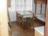 pohled do pokoje - chata k pronájmu Starý Petřín