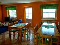 Ubytování u Dudů - společenská místnost