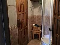 Sprcha a vstup do sauny - Bystřice pod Lopeníkem