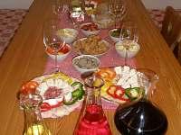 Pohoštění a degustace vín