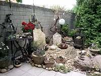 zátiší v zahradě - Hlohovec
