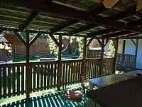 pohled z terasy ve dvoře - Roštín