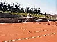 tenisové kurty u koupaliště - Roštín