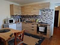Vybavená kuchyně - chata k pronájmu Mutěnice