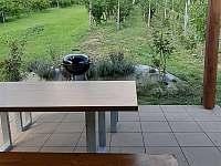 Zastřešená terasa s výhledem do vinohradu - Mutěnice