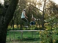 Na trampolíně