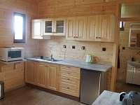 Chata truhlář - kuchyne