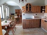 kuchyň + spol. místnost - rekreační dům k pronájmu Lednice