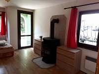 ložnice v přízemí - rekreační dům k pronajmutí Lednice