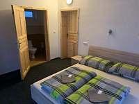 7 x ložnice s manželskou postelí + možnost přistýlek - Nové Mlýny