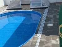 Bazén 5,5 x 3,5 m se zastřešením - Nové Mlýny