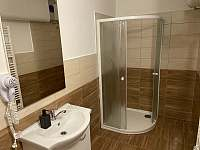 koupelna - chalupa k pronajmutí Nové Mlýny