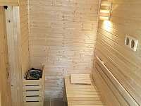 interiér sauny - Kněždub