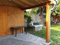 sauna - pronájem chalupy Kněždub