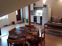 Rubinet - obývací část s kuchyní