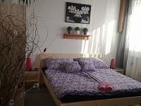 Apartmán levandulový - ložnice - k pronajmutí Ostrov u Macochy