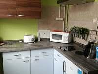Kuchyň apartmán levandulový - k pronajmutí Ostrov u Macochy