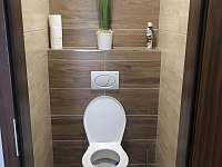 WC - chata k pronájmu Velké Bílovice
