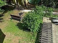 Ohniště pod terasou - chata k pronajmutí Podhradí nad Dyjí