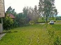 Pozemek u chaty