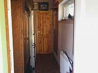 předsíň - chata ubytování Buchlovice - Smraďavka