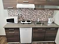 Kuchyňka - pronájem apartmánu Sloup