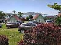 Pohled z terasy - chata ubytování Šakvice - Nové Mlýny