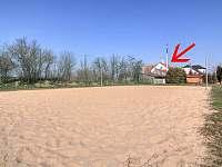 Hřiště na plážový volejbal - Moravský Žižkov