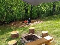 Část zahrady - chata k pronájmu Lančovska zátoka - Vranov nad Dyji