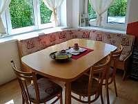 Jídelní kout - chata ubytování Lančovska zátoka - Vranov nad Dyji