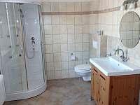 Koupelna k P5 a P6 - WC, masážní sprchový kout