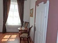 Pokoj P3 v 1. patře s manželskou postelí