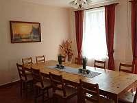 Společenská místnost vedle kuchyně