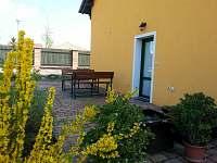 Penzion U Havranů - posezení zahrada - ubytování Mikulov