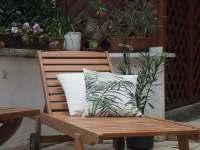 Dřevěné posezení - zahradní lehátko - Řicmanice