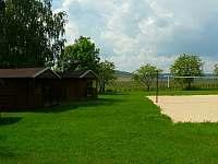 beach volejbalové hřiště - apartmán k pronajmutí Olbramovice u Moravského Krumlova