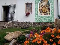malované viniční domy - Olbramovice u Moravského Krumlova