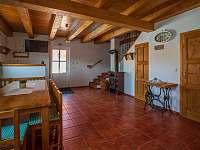 Kuchyně - chalupa ubytování Přítluky