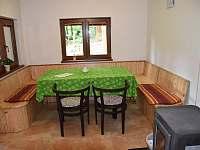 Bunč 17 - jídelna - chata k pronájmu Roštín - Bunč