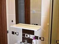 Bunč 17 - koupelna - chata k pronajmutí Roštín - Bunč