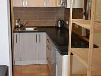 Bunč 17 - kuchyň - chata ubytování Roštín - Bunč