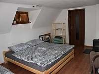 Bunč 17 - ložnice - chata k pronajmutí Roštín - Bunč