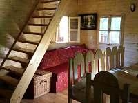 Interiér-přízemí - chata ubytování Prusinovice
