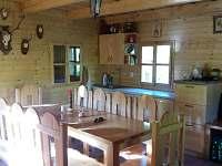 Interiér-přízemí - chata k pronájmu Prusinovice