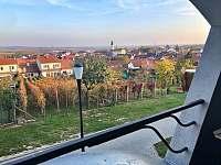 výhled z ložnice 2 - pronájem apartmánu Velké Pavlovice